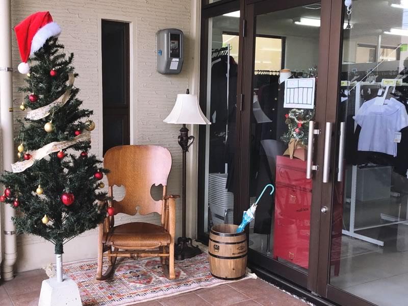 サンタのお家の入り口